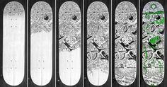 Leo Burnett Skate by Hansel González, via Behance