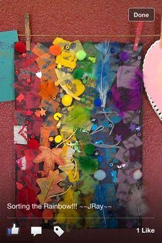 Kids colour board