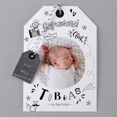 Unsere Babykarte Click - verschickt Liebe und schöne Geburtskarten