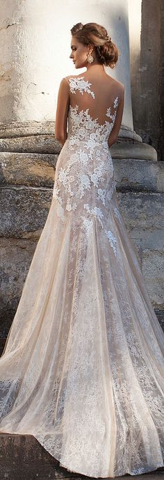 Wedding dress idea; Featured Dress: Milla Nova                              …