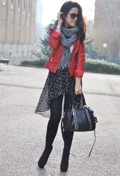 amazing asymmetrical skirt with starssss :-)