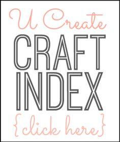 U Create http://www.u-createcrafts.com/p/about-us.html http://www.pinterest.com/ucreatecrafts/