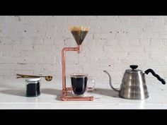 HomeMade Modern EP53 Copper Coffee Maker