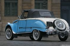 Citroen 2cv cabriolet ; hoffmann