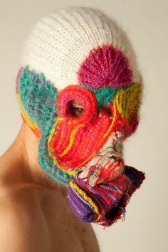 Een bivakmuts voor mijn man: dit is al het knapste ontwerp dat ik heb gevonden. Het besluit: wees creatief!