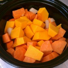 crock pot butternut