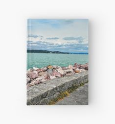 'by the lake Hardcover Journal by godolilla Framed Prints, Canvas Prints, Art Prints, Journal Design, Relaxing Day, Transparent Stickers, Glossier Stickers, Sell Your Art, Art Boards