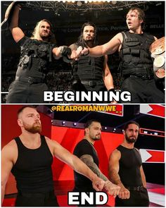 🙄🙄🙄 I believe that after Roman comes back they will reunite Wwe Superstar Roman Reigns, Wwe Roman Reigns, Wrestling Superstars, Wrestling Wwe, Renee Young Wwe, Wwe Quotes, Roman Reigns Dean Ambrose, Wwe Seth Rollins, Wwe Funny