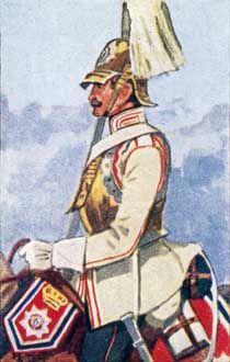 Truppen von Hessen-Kassel im Jahre 1866