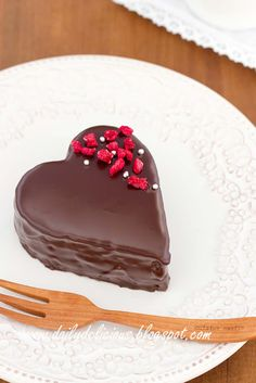 dailydelicious: Chocolate chiffon with raspberry butter cream and soft chocolate ganache