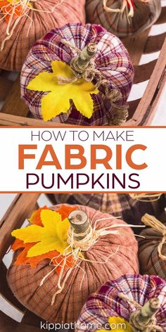 Fall Wood Crafts, Easy Fall Crafts, Fall Diy, Diy Arts And Crafts, Diy Halloween Decorations, Halloween Crafts, Holiday Crafts, Fall Decorations, Diy Pumpkin