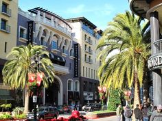 Santana Row - San Jose, CA. So much fun to shop, dine or relax. Farmers Market is a plus.