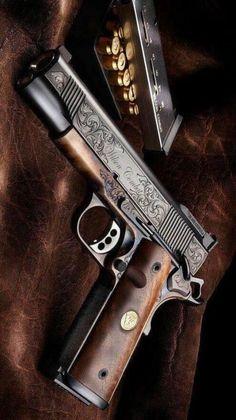 RAE Magazine Speedloaders will save you! Weapons Guns, Airsoft Guns, Guns And Ammo, Colt 1911, Armas Ninja, Custom Guns, Custom 1911 Pistol, Cool Guns, Firearms