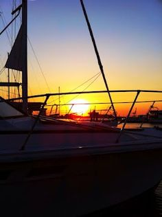 Sunset At Charleston Marina this past weekend.  How pretty is that.