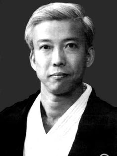 Moriteru Ueshiba - son of Kisshomaru Ueshiba. The third and current Doshu of the Aikikai.