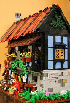 Lego Medieval Inn 3