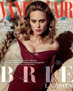 Brie Larson sube el factor de Glamour en  Vanity Fair