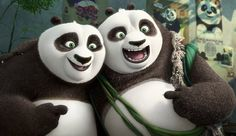 """There's a lovely theme running through Kung Fu Panda 3 about the importance of family, fathersespecially. In this installment of the franchise,Po (Jack Black), the kung fu warrior Panda, is reunited with his long-lost Panda dad, Li (Bryan Cranston), and all of his panda family. """"And that's kind of my favorite part of the movie ..."""