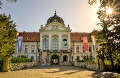Royal Palace of Gödöllő. #Hungary #palace