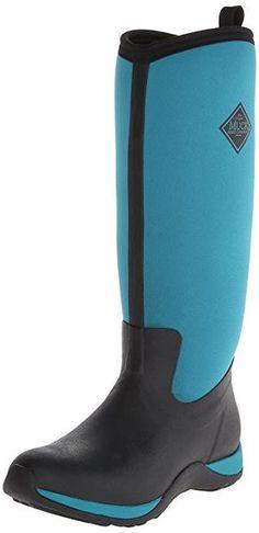 Muck Boot Women/'s Cambridge Tall Noir Taille 7 Premium Bottes de pluie
