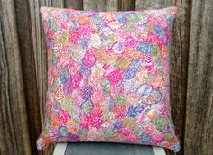 45cm or 18 inches Square Cushion Cover in by SourPussDesigns, $40.00