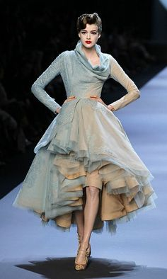 oh Dior couture...