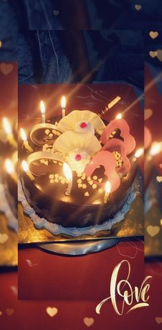 Happy Birthday Cake Images, Happy Birthday Wishes Quotes, Beautiful Birthday Cakes, Birthday Photo Banner, Gold Birthday Party, Birthday Posts, Happy Marriage Anniversary Cake, Bridal Songs, Cake Story