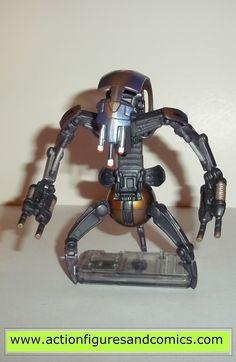 star wars action figures DESTROYER DROID 1999 episode I 1 complete hasbro toys