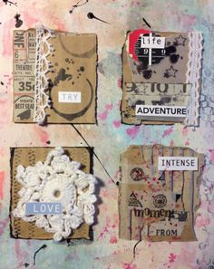 l' Atelier Scrap: Inspiration by Ruth Bernal