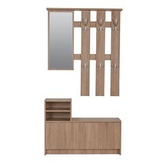 Awesome High Cabinet with Mirror Door