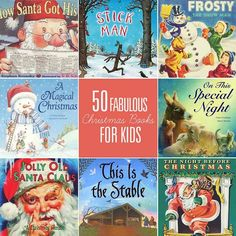 50 Fabulous Christmas Books for Kids.