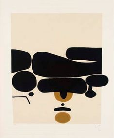 Life on Sundays (visual-pulp: Victor Pasmore Illustrations, Illustration Art, Abstract Expressionism, Abstract Art, Victor Pasmore, Modern Art, Contemporary Art, Inspiration Artistique, Black And White Abstract