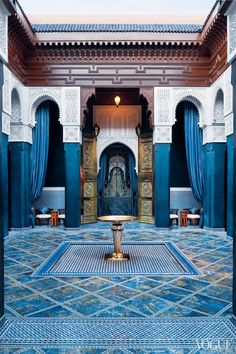 Marrakech Express 24 Hours 4 Spas Marble InteriorInterior DesignMoroccan