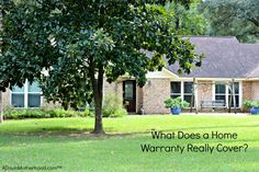 Do you know what a home warranty covers? Learn more at NRG Home Services! #NRG #Reliant #NRGPowersMe