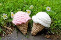 Ice Cream Catnip Cat Toy Set of 2 by ParadisoBabies on Etsy