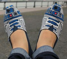 Star Wars shoes by TOMS -----IN LOVE