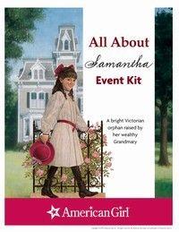 American Girl Publishing - Samantha Printable Activities
