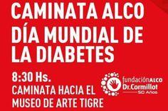 Tigre invita a la caminata ALCO y Campaña Día Mundial de la diabetes 2017