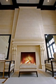 26 best stone mantles overmantles fireplaces images fireplace rh pinterest com