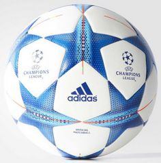 El balón de Adidas para la temporada 2015/16 UEFA Champions League