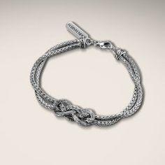 The Infinity Knot bracelet!  A classic.