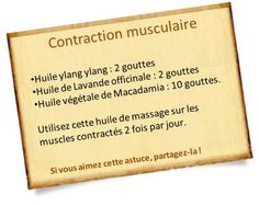 huile ylang ylang contraction musculaire