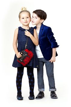 A fun look for kids by Little Marc Jacobs.