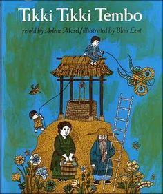Tikki Tikki Tembo my fav childhood book