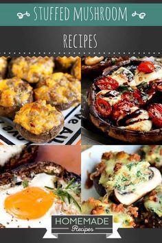 15 Stuffed Mushroom Recipes