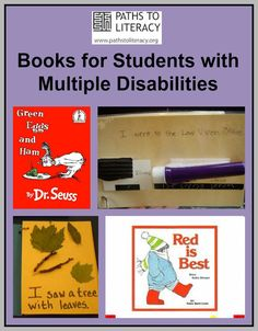 Book resource site including Language Experience Books, Object Books, Predictable Books, Accessible Books, Power Point E-Books, Modifying Books, Adapted, and Adapted Literacy