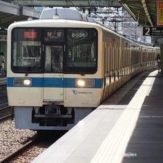 ファインダーを覗いてシャッターを切るすっかり忘れてた感覚です 昨日のOER8000 #鉄道 #電車 #小田急 #8000系 #omd #em10 by dd101murasame