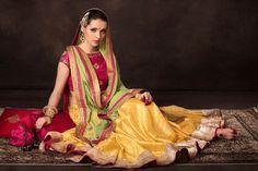 So Beautiful Indian Bride by http://www.TishaSaksena.com/ (Meherchand Mkt, Delhi & Pernia's PopUp)