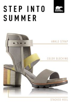 At last, comfort and style meet in a shoe you can (and will) wear all day long. The Addington™Cuff has a just-right fit with unexpected cutouts and colorblock details that make this shoe a true standout. Discover more warm-weather styles from SOREL.