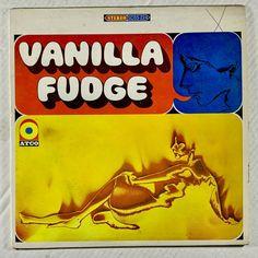VANILLA FUDGE Vanilla Fudge LP 1967 - ATCO Records SD 33-224 - G #PsychedelicRockPopRock Vanilla Fudge, Vintage Music, Sd, Albums, Early Music